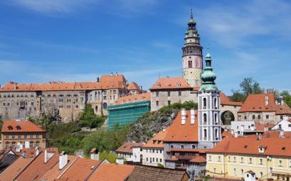 Výhled na Český Krumlov