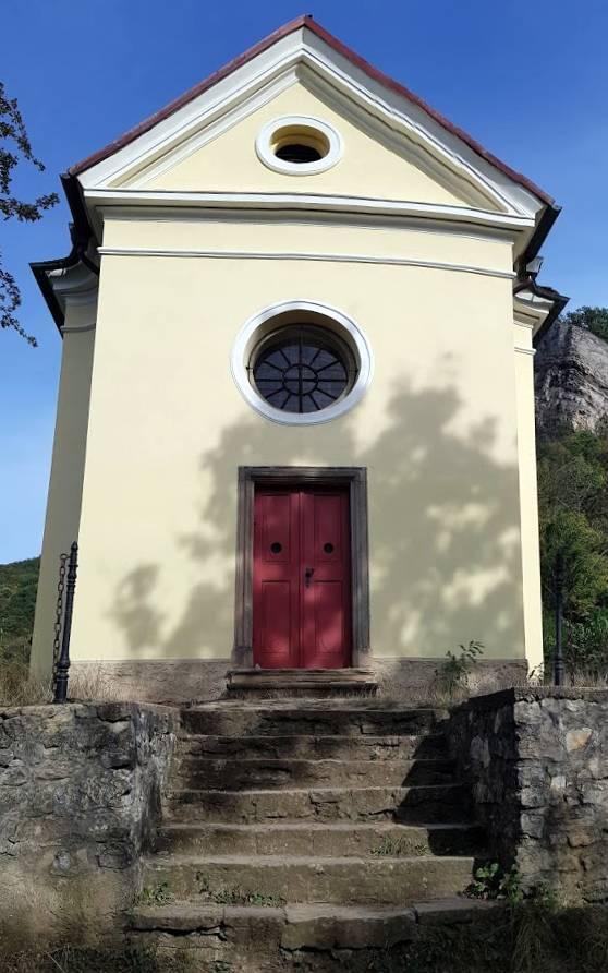 Kaple Povýšení sv. Kříže, Svatý Jan pod Skalou